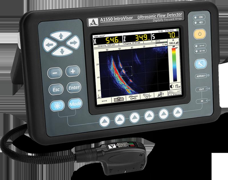 portable ultrasonic flaw detector (A1550)